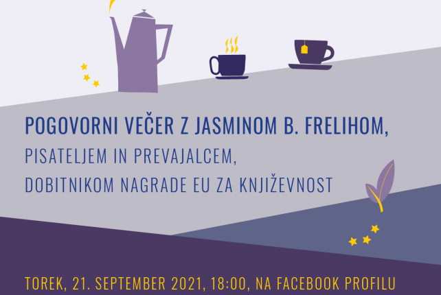 CAFÉ EVROPA: JASMIN B. FRELIH